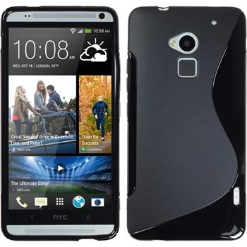 Silicone Case for HTC One Max S-Style black