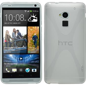 Silicone Case for HTC One Max X-Style transparent