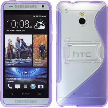 Silicone Case for HTC One Mini  purple