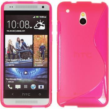 Silikon Hülle One Mini S-Style pink