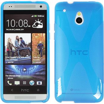 Silicone Case for HTC One Mini X-Style blue