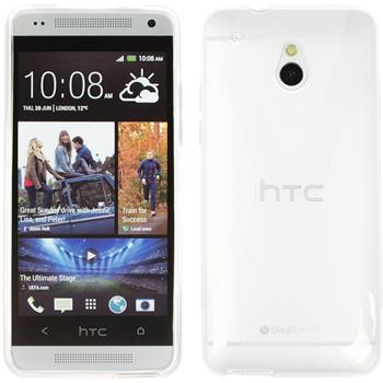 Silicone Case for HTC One Mini X-Style transparent