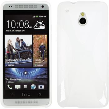 Silicone Case for HTC One Mini X-Style white