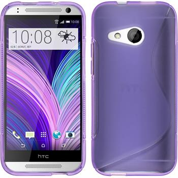 Silicone Case for HTC One Mini 2 S-Style purple
