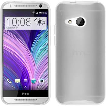 Silikonhülle für HTC One Mini 2 transparent weiß