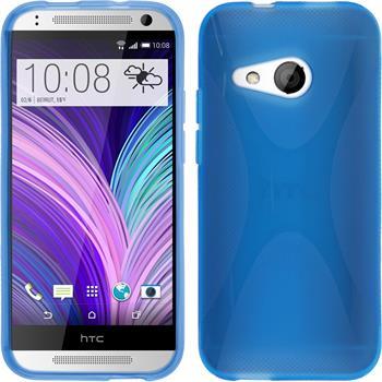 Silikon Hülle One Mini 2 X-Style blau