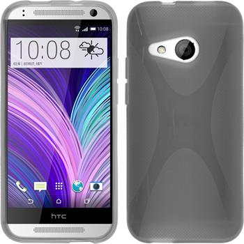 Silicone Case for HTC One Mini 2 X-Style gray