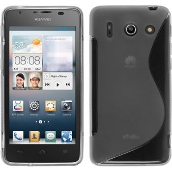 Silicone Case for Huawei Ascend G510 S-Style gray