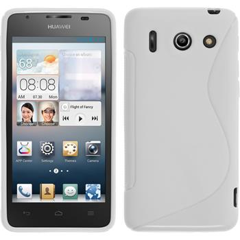 Silicone Case for Huawei Ascend G510 S-Style white