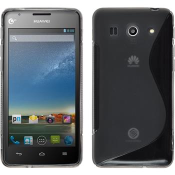 Silicone Case for Huawei Ascend G520 S-Style gray