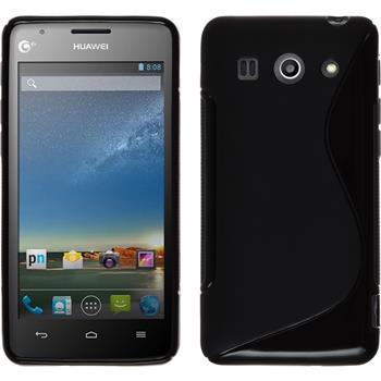 Silikon Hülle Ascend G520 S-Style schwarz