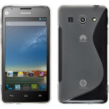 Silikonhülle für Huawei Ascend G520 S-Style clear