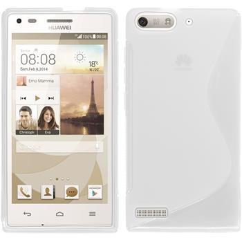 Silikonhülle für Huawei Ascend G6 S-Style clear