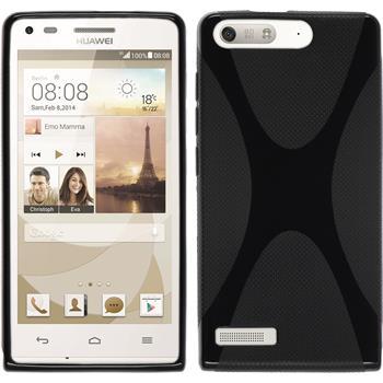 Silikon Hülle Ascend G6 X-Style schwarz