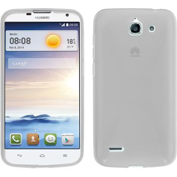 Silicone Case for Huawei Ascend G730 X-Style transparent