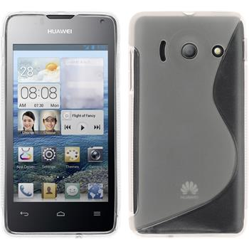 Silicone Case for Huawei Ascend Y300 S-Style transparent