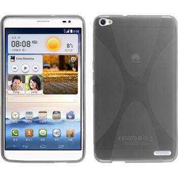 Silikon Hülle MediaPad X1 X-Style grau