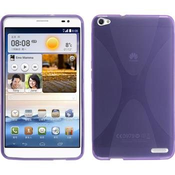 Silikon Hülle MediaPad X1 X-Style lila