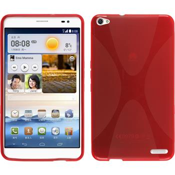 Silikon Hülle MediaPad X1 X-Style rot