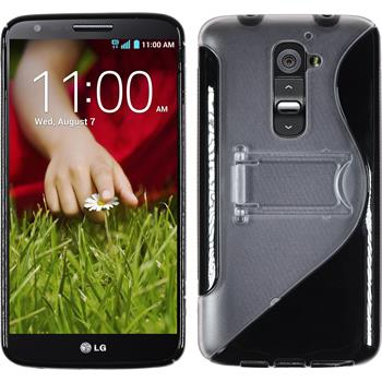 Silicone Case for LG G2  black