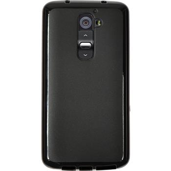 Silicone Case for LG G2 Candy black