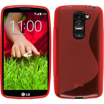 Silicone Case for LG G2 mini S-Style red