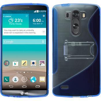 Silikon Hülle G3 Aufstellbar blau