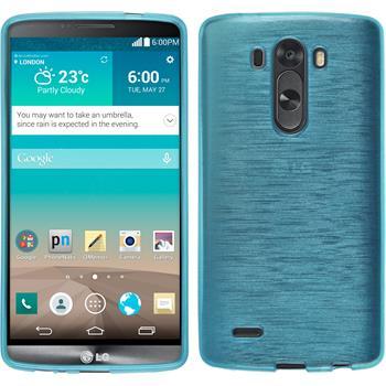Silikon Hülle G3 brushed blau