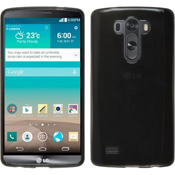 Silicone Case for LG G3 transparent black