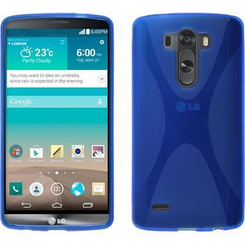 Silikon Hülle G3 X-Style blau