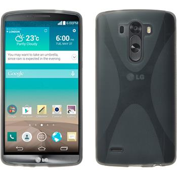 Silicone Case for LG G3 X-Style gray