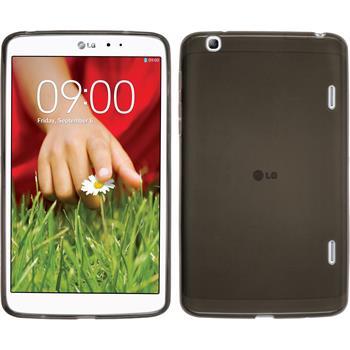 Silikonhülle für LG G Pad 8.3 transparent schwarz