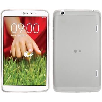 Silikonhülle für LG G Pad 8.3 transparent weiß