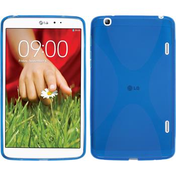 Silicone Case for LG G Pad 8.3 X-Style blue