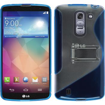 Silicone Case for LG G Pro 2  blue