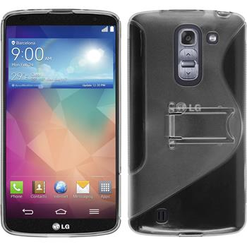 Silicone Case for LG G Pro 2  gray
