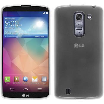 Silikonhülle für LG G Pro 2 transparent weiß