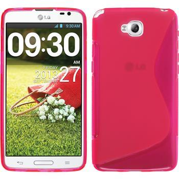 Silikon Hülle G Pro Lite S-Style pink