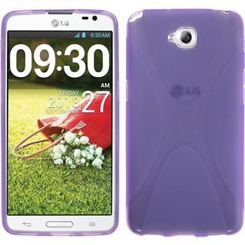 Silikonhülle für LG G Pro Lite X-Style lila