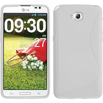 Silicone Case for LG G Pro Lite Dual S-Style white