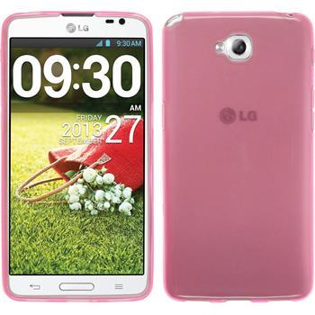 Silikon Hülle G Pro Lite Dual transparent rosa