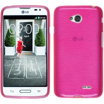 Silikonhülle für LG L70 brushed pink