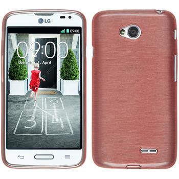 Silicone Case for LG L70 brushed pink