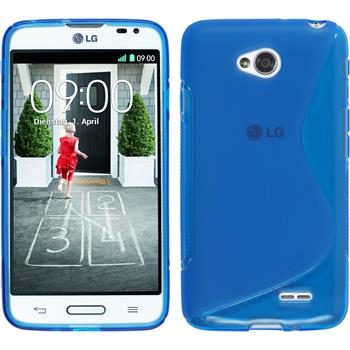 Silicone Case for LG L70 S-Style blue