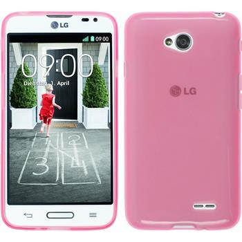 Silikon Hülle L70 transparent rosa
