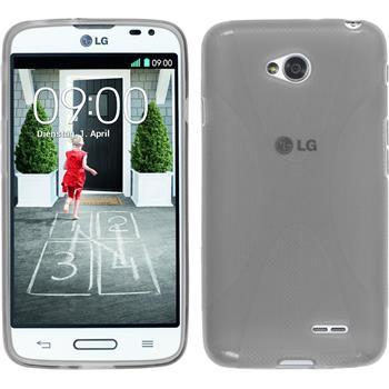 Silikonhülle für LG L70 X-Style grau