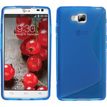 Silikon Hülle Optimus L9 II S-Style blau