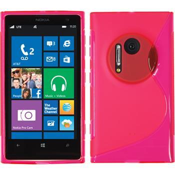 Silikon Hülle Lumia 1020 S-Style pink