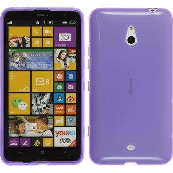 Silicone Case for Nokia Lumia 1320 transparent purple
