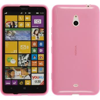 Silikon Hülle Lumia 1320 transparent rosa